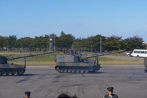 99式自走155mmりゅう弾砲 PA271934