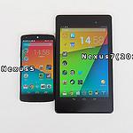 Nexus5 と Nexus7