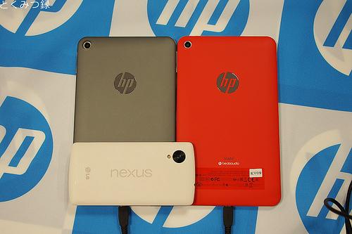 HP Slate7 と Nexus5