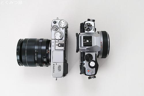 FUJIFILM X-E2 と 『OM-D E-M5』