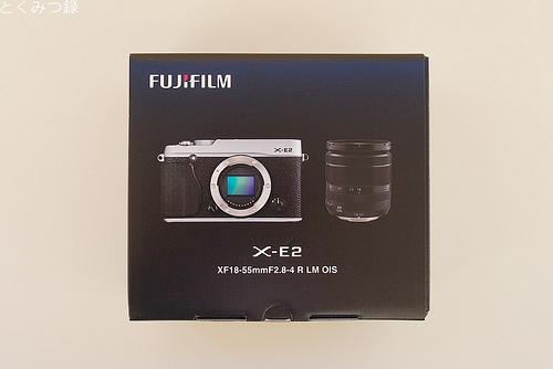 FUJIFILM X-E2 箱