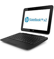 キーボード付きAndroid タブレット HP SlateBook10 x2