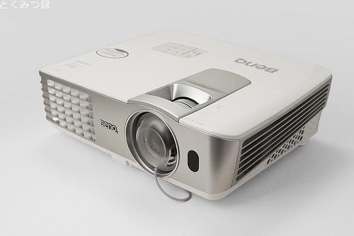 BenQ 超短焦点型DLPフルHDホームプロジェクター「W1080ST」