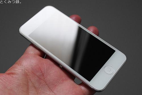 iPod touch 5世代用強化ガラスフィルム ラウンド(角丸)タイプ 硬度9H 日本語説明書付き Glass Film【クロスフォレスト「CF-GHIPT5」】