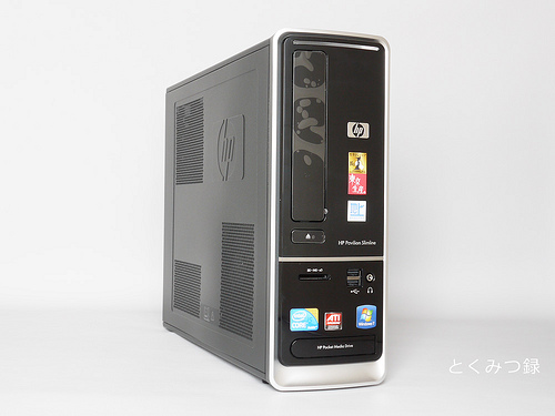 HP Pavilion Desktop PC s5350 春モデル