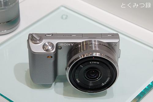 デジタル一眼カメラ『NEX-5A』薄型広角レンズキット