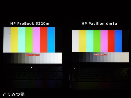 HP Pavilion dm1a 液晶