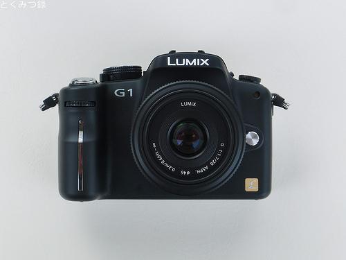 LUMIX G 20mm/f1.7 パンケーキレンズ