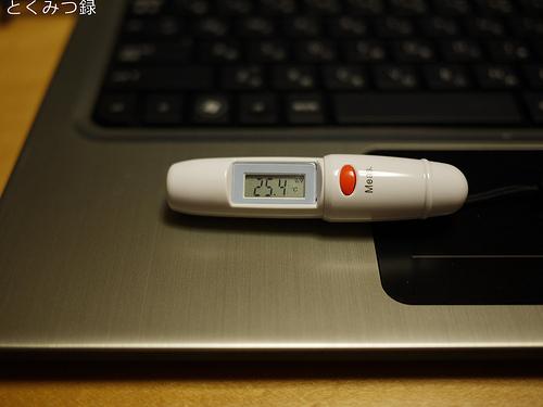 HP Folio13-1000 温度