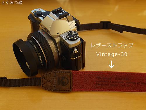 king Etshaim 一眼レフカメラ用 レザーストラップ Vintage-30