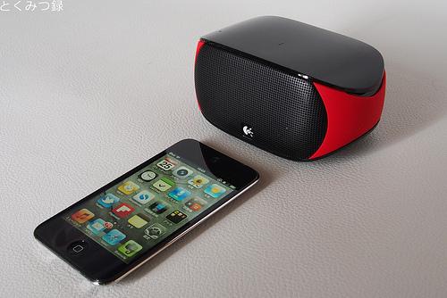 Bluetoothワイヤレス スピーカー「ロジクール ミニ ブームボックス」