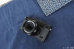 HAKUBA カメラ ラップ M 桜紺 KCW-MCNV FUJIFILM X-Pro 1