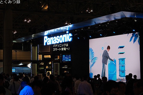 CEATEC JAPAN 2012 Panasonicブース
