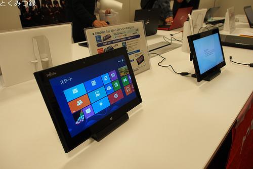 パソコンフェア2012 富士通ブース