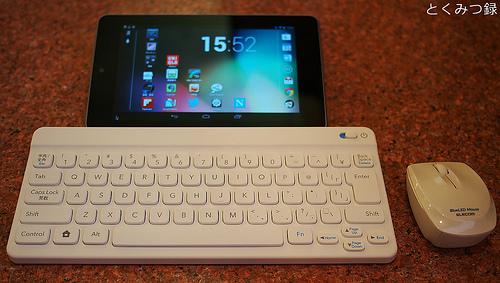 Nexus7 Bluetoothキーボードとマウス