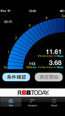 WiMAX 速度 iPod touch 5