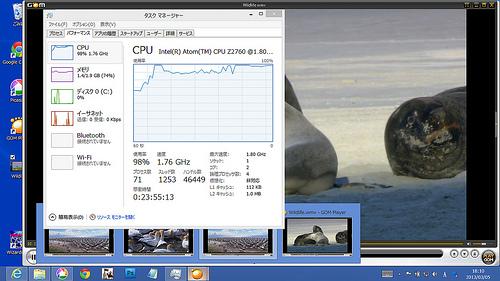 DELL Latitude 10 CPU使用率100%を目指して
