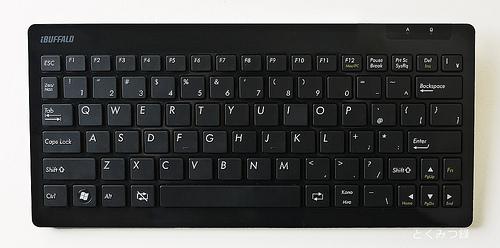 BSKBB01シリーズ BluetoothR2.0対応 コンパクトキーボード