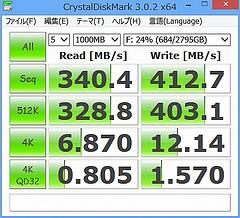 GALLERIA HX > HD-GDU3(世界最速HDD)