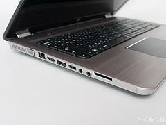 HP Pavilion Notebook PC dv7 冬モデル